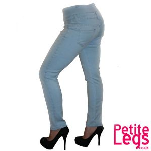 Millie High Waist Skinny Jeans | UK Size 8 | Petite Leg Inseam Select: 24 - 30 inches
